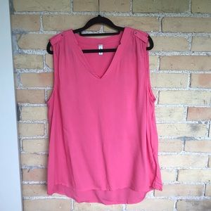 Soyaconcept Pink Sleeveless Blouse
